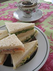 Tea Sandwiches by SheriW