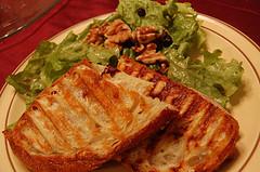 Panini Sandwich courtesy of Snowpea&Bokchoi