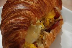 breakfast sandwich photo by kthread