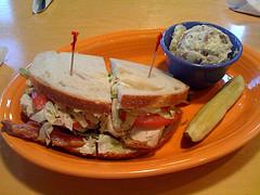 Chicken Sandwich Photo courtesy of Fancycwabs