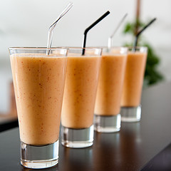 Smoothies courtesy of realSMILEY