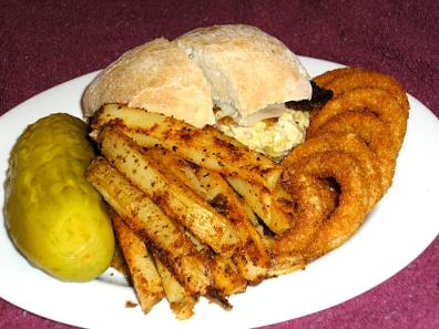 Tuna Fish with Bacon Sandwich