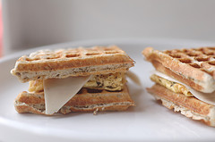 Waffle Sandwich courtesy of Manray3