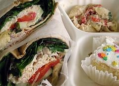 Chicken Parmesan Sandwich courtesy of Mhaithaca