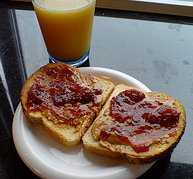 Peanut Butter Jelly by Kalleboo flickr
