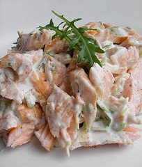 Salmon Sandwich Spread by Fotoos Van Robin