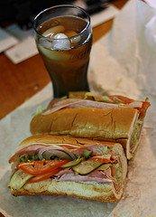 submarine sandwich by Hexidecimal