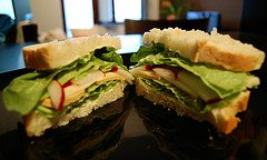 Vegetarian Sandwiches Courtesy of Headsclouds